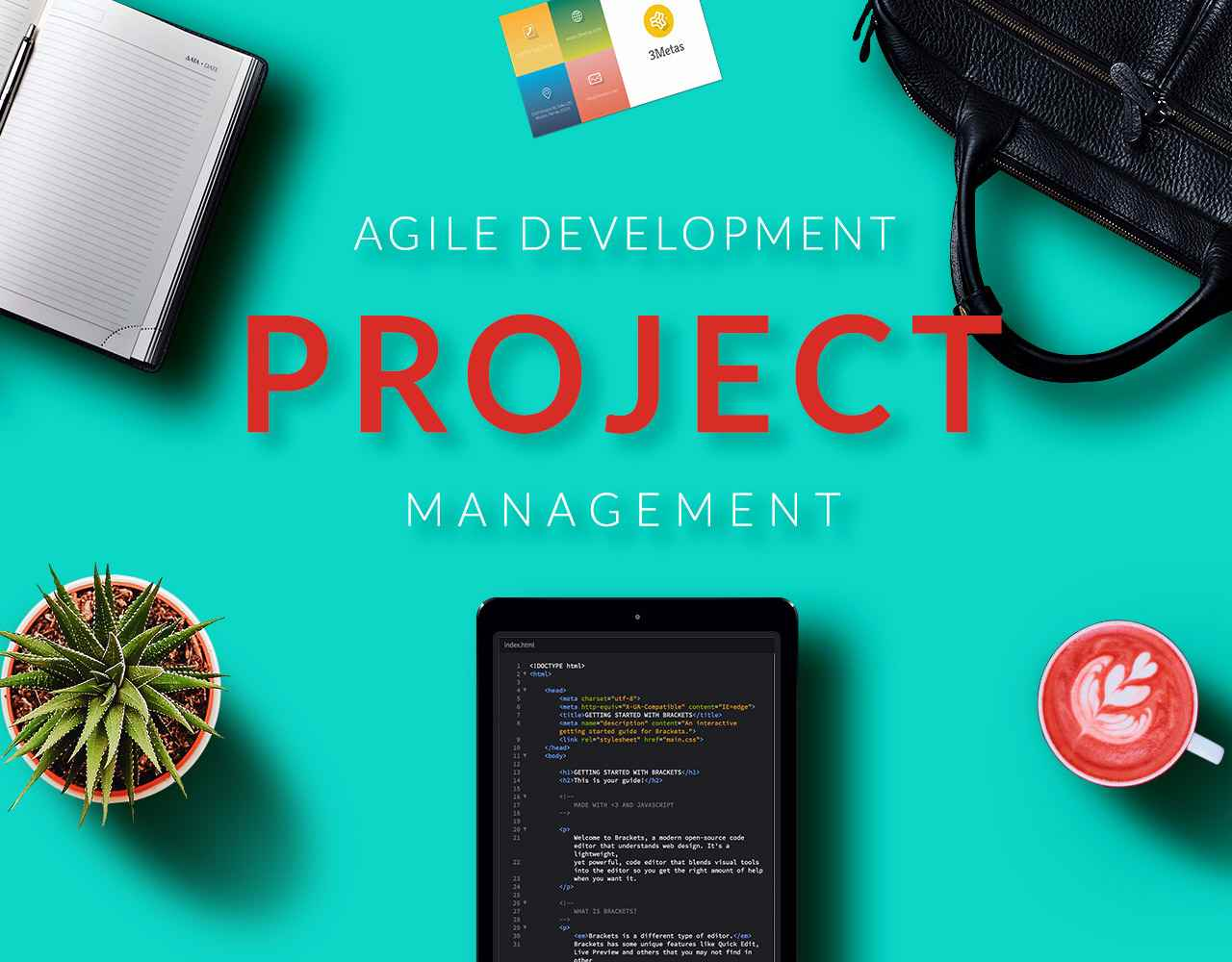 Agile Development Service Home Page 3Metas