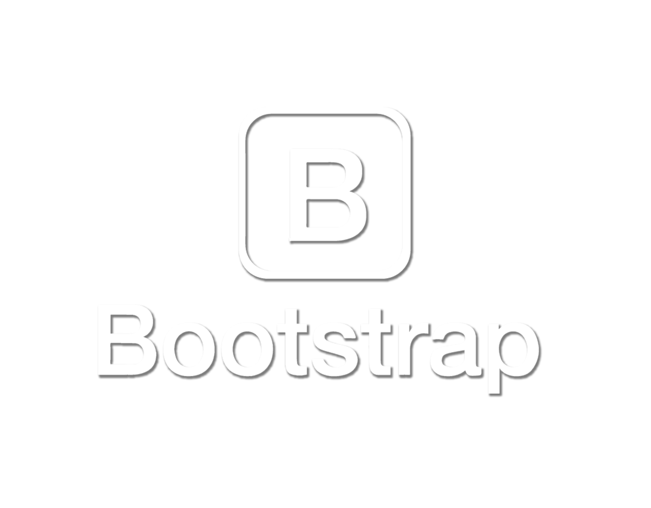 Logo Bootstrap Transparent Full Stack Page Metas