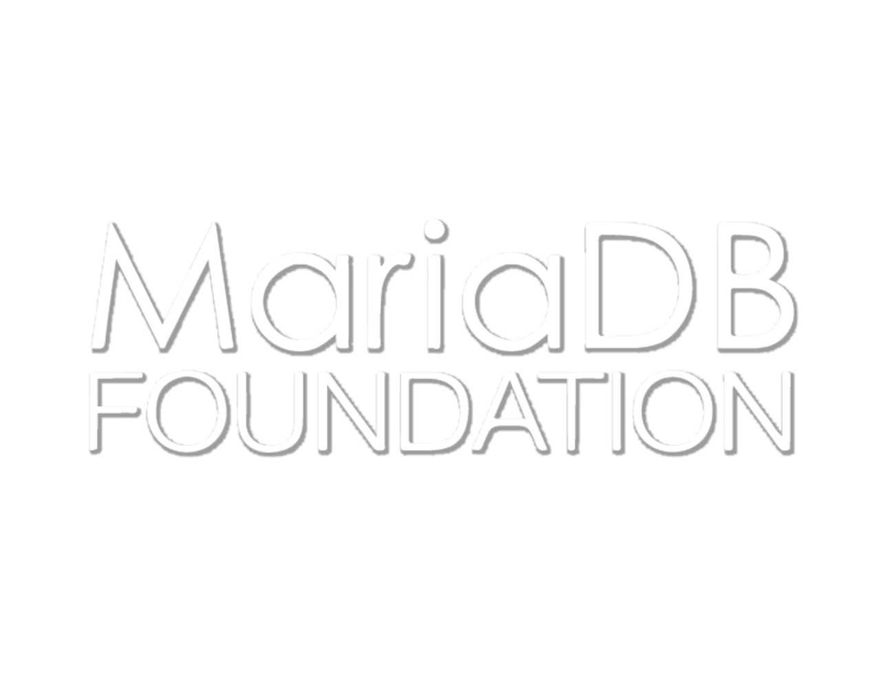 Logo MariaDB Transparent Full Stack Page Metas